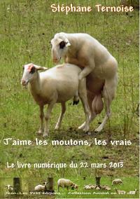 Livre numérique J'aime les moutons, les vrais