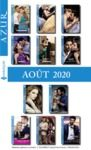 Libro electrónico Pack mensuel Azur : 11 romans + 1 gratuit (Août 2020)