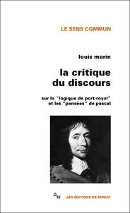 Livre numérique La Critique du discours