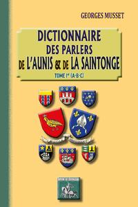 Livre numérique Dictionnaire des parlers de l'Aunis et de la Saintonge