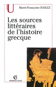 Livre numérique Les sources littéraires de l'histoire grecque