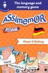 Electronic book Assimemor – My First German Words: Körper und Kleidung