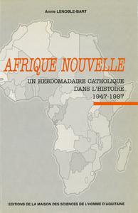 Livre numérique Afrique Nouvelle