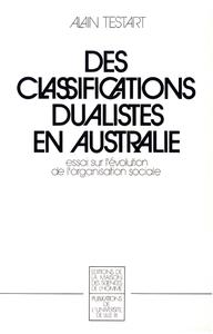 Livre numérique Des classifications dualistes en Australie