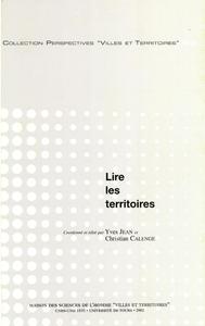 Electronic book Lire les territoires