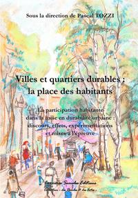 Livre numérique Villes et quartiers durables : la place des habitants