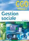 Livre numérique Gestion sociale - 6e édition