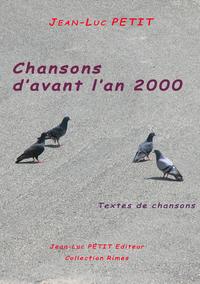 Livre numérique Chansons d'avant l'an 2000