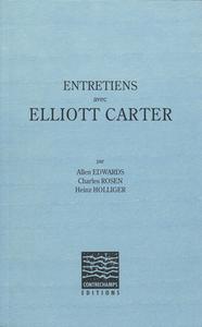 Livre numérique Entretiens avec Elliott Carter