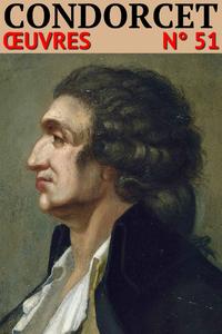 Livre numérique Nicolas de Condorcet - Oeuvres