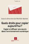 Livre numérique Quels droits pour copier aujourd'hui ?