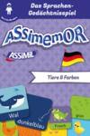 Electronic book Assimemor - Meine ersten Wörter auf Deutsch: Tiere und Farben