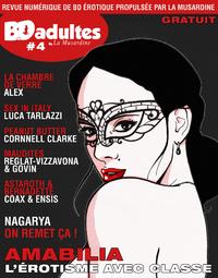 Electronic book BD-adultes, revue numérique de BD érotique #4