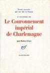 Livre numérique Le Couronnement impérial de Charlemagne