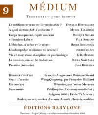 Livro digital Médium n°9, octobre-décembre 2006