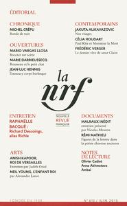 Livre numérique La Nouvelle Revue Française N° 613