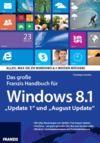 Livre numérique Das große Franzis Handbuch für Windows 8.1