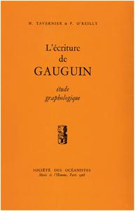 Electronic book L'écriture de Gauguin