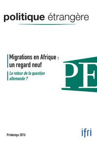 Livre numérique Migrations en Afrique : un regard neuf / Le retour de la question allemande ?