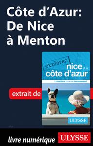 Livre numérique Côte d'Azur : De Nice à Menton