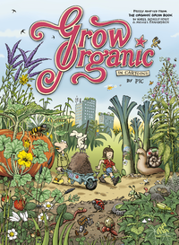 Livro digital Grow Organic in Cartoons