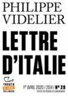 Livre numérique Tracts de Crise (N°28) - Lettre d'Italie
