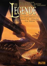 Livro digital Die Legende der Drachenritter. Band 21
