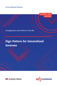 Electronic book Sign Pattern for Generalized Inverses