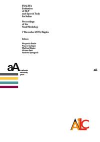 Livre numérique EVALITA. Evaluation of NLP and Speech Tools for Italian
