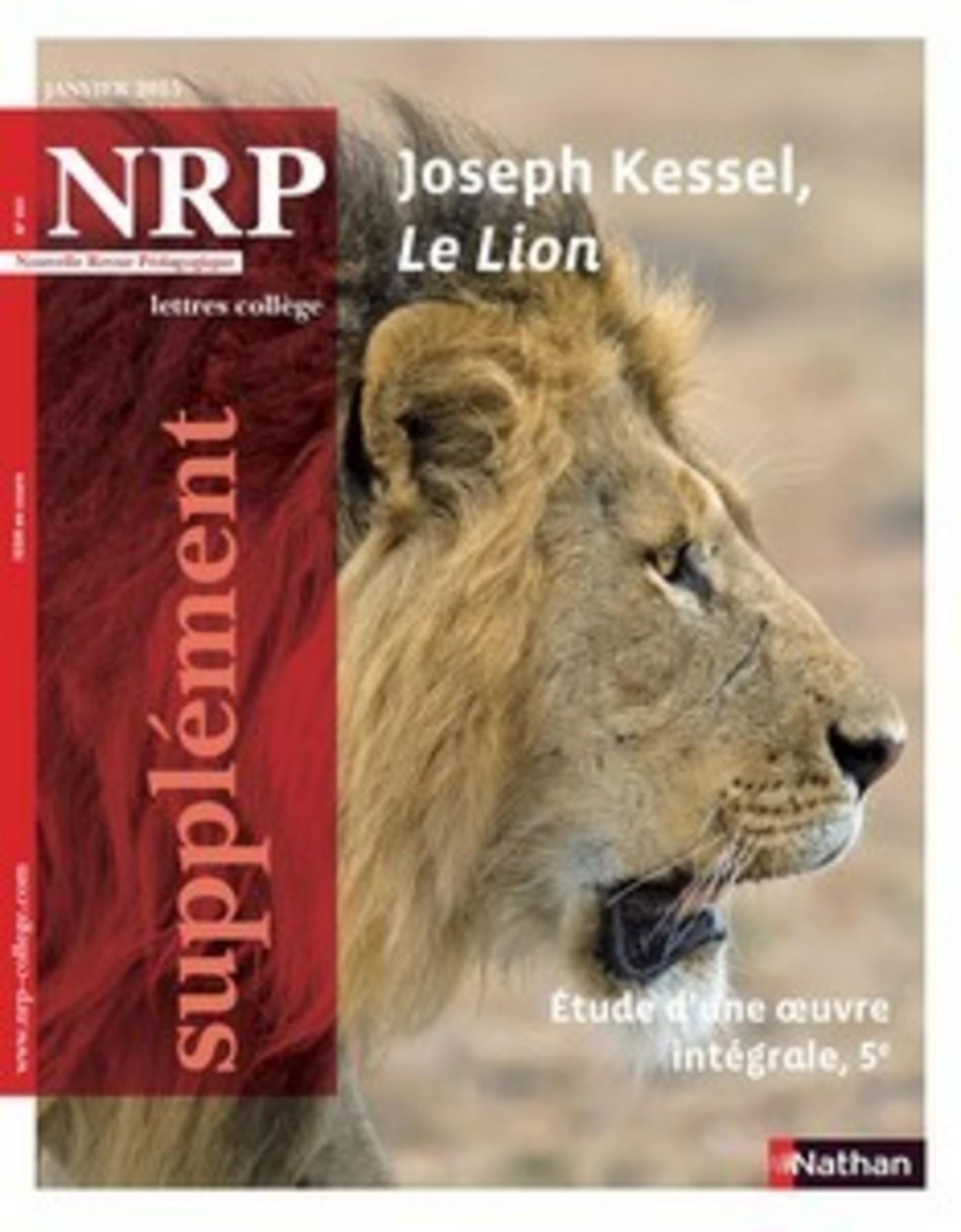 Ebook NRP Supplément Collège - Joseph Kessel, Le Lion - Janvier 2015 ...
