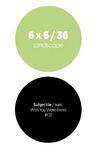 Livre numérique 6 x 6 / 36 - Landscape