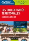 Livre numérique Les collectivités territoriales en fiches et QCM - Cat. A, B, C - 2019