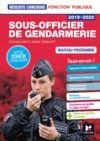 Livre numérique Réussite Concours - Sous-officier de gendarmerie - 2019-2020