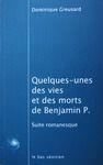 Electronic book Quelques-unes des vies et des morts de Benjamin P.