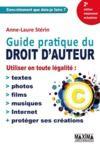 Livre numérique Guide pratique du droit d'auteur