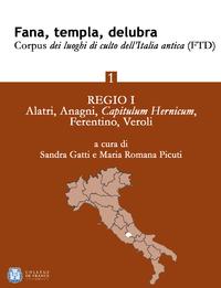 Livre numérique Fana, templa, delubra. Corpus dei luoghi di culto dell'Italia antica (FTD) - 1