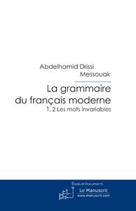 Livre numérique La grammaire du français moderne T. 2