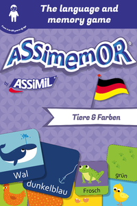 Electronic book Assimemor – My First German Words: Tiere und Farben