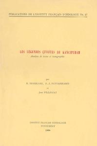 Livre numérique Les légendes çivaïtes de Kāñcipuram