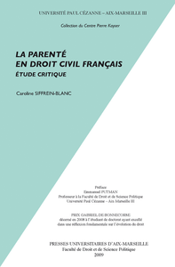 Livre numérique La parenté en droit civil français