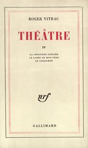 Livre numérique Théâtre (Tome IV)