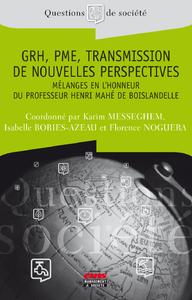 Livre numérique GRH, PME, Transmission - De nouvelles perspectives