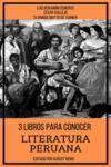 Livre numérique 3 Libros para Conocer Literatura Peruana