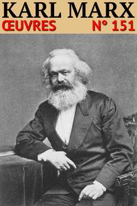 Livre numérique Karl Marx - Oeuvres