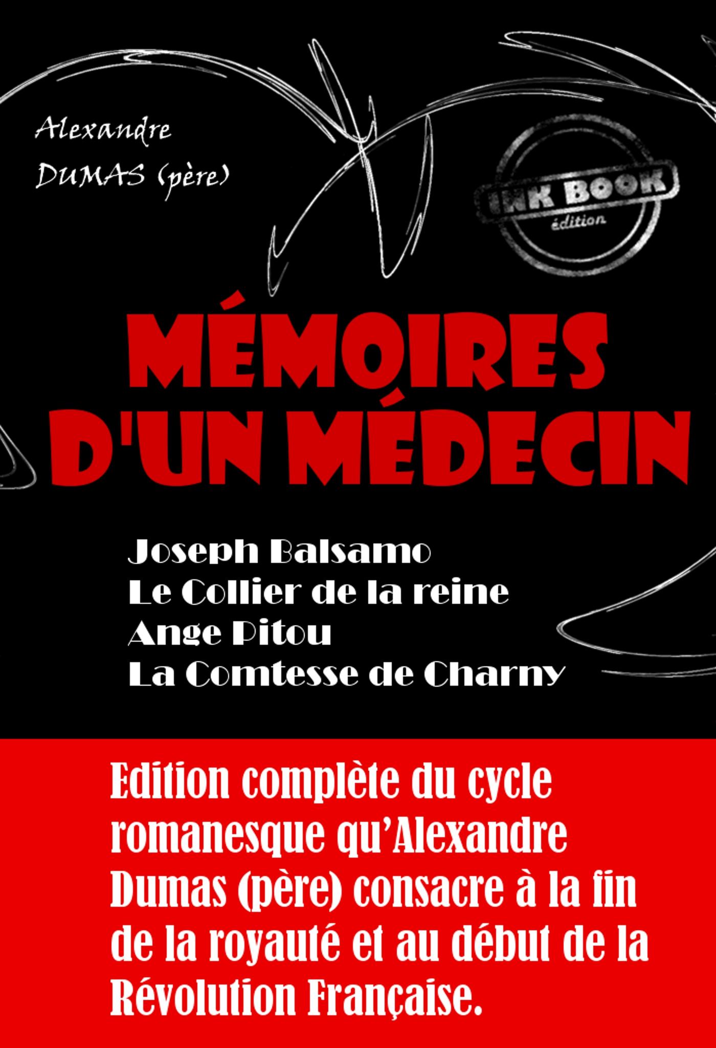 fabrication habile comment acheter garantie de haute qualité Mémoires d'un médecin : Joseph Balsamo ; Le Collier de la reine ; Ange  Pitou ; La Comtesse de Charny