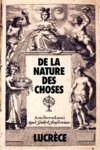 Livre numérique De la Nature des Choses