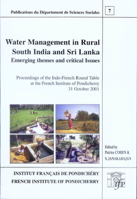 Electronic book Water management in rural South India and Sri Lanka