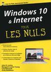 Livre numérique Windows 10 et Internet, Mégapoche Pour les Nuls