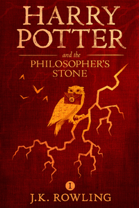 Electronic book Harry Potter and the Philosopher's Stone
