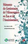 E-Book Mémento du gestionnaire de l'alimentation en eau et de l'assainissement